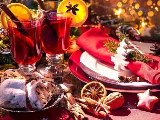 Собирать пазл Christmas mulled wine онлайн