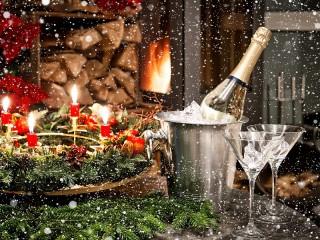 Собирать пазл New year's eve онлайн