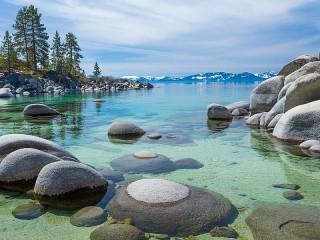Собирать пазл Lake Tahoe онлайн