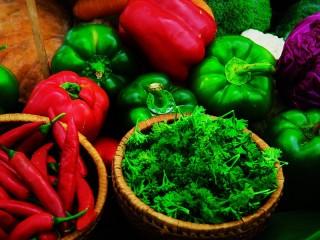 Собирать пазл Peppers and herbs онлайн