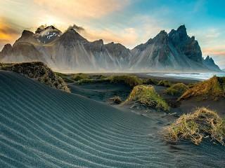 Собирать пазл Sand dune онлайн