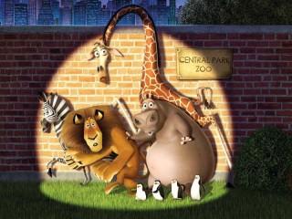 Собирать пазл Pobeg iz zooparka онлайн