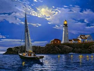 Собирать пазл Sailing онлайн