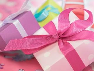 Собирать пазл Gift boxes онлайн