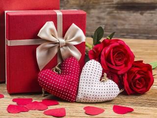 Собирать пазл Gift онлайн