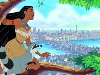 Собирать пазл Pocahontas онлайн