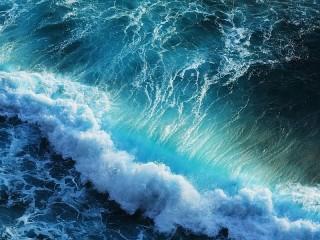 Собирать пазл Coastal wave онлайн