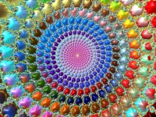 Собирать пазл Rainbow spiral онлайн