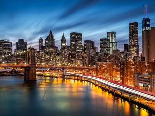 Собирать пазл Manhattan онлайн