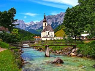 Собирать пазл Ramsau Germany онлайн