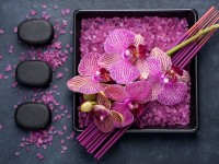 Собирать пазл Relax with orchids онлайн