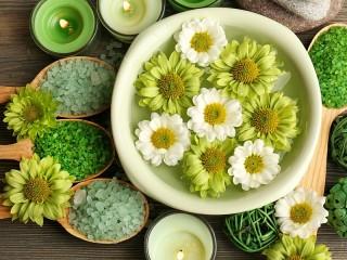 Собирать пазл Relax green онлайн