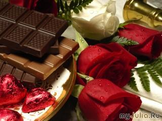 Собирать пазл rozi v shokolade онлайн