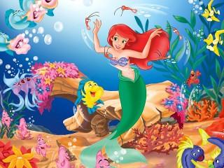 Собирать пазл Ariel the mermaid онлайн