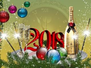 Собирать пазл New Year 2018 онлайн