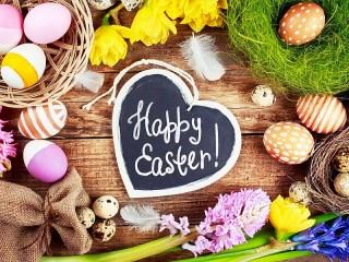 Собирать пазл Happy Easter онлайн