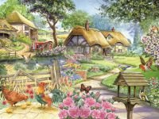 Собирать пазл Rural scene 2 онлайн