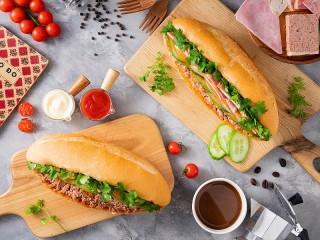 Собирать пазл Sandwiches онлайн