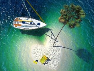 Собирать пазл Heart of the ocean онлайн