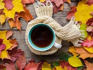 Собирать пазл Scarf for tea онлайн