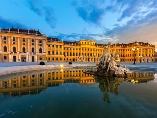 Собирать пазл Palace in Vienna онлайн