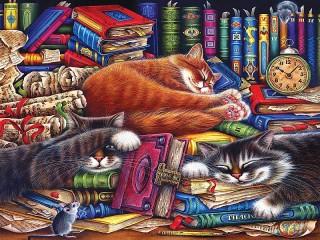 Собирать пазл Old books онлайн