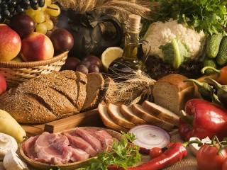 Собирать пазл Fresh food онлайн