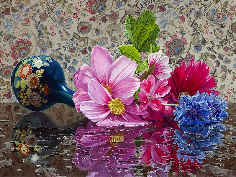 Puzzle Zbierać puzzle online - Flower still-life