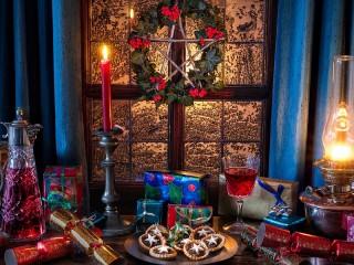 Собирать пазл A treat for Christmas онлайн
