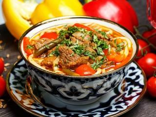 Собирать пазл Uzbek lagman онлайн