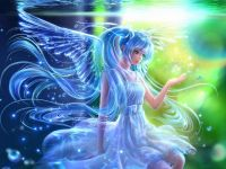 Собирать пазл Water angel онлайн