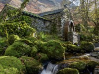 Собирать пазл Watermill онлайн