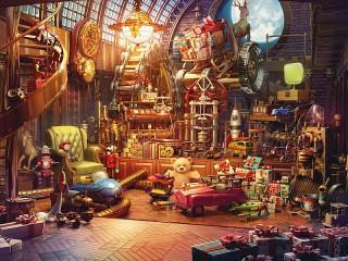 Собирать пазл Magic attic онлайн