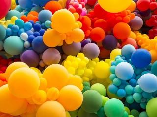 Собирать пазл Balloons онлайн