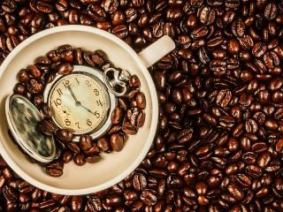 Собирать пазл Coffee time онлайн