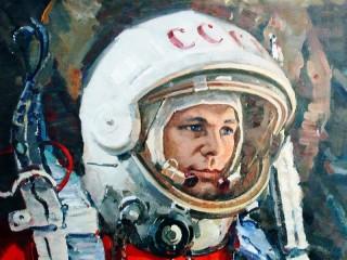 Собирать пазл Yuriy Gagarin  онлайн