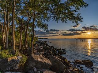 Собирать пазл Bay in USA онлайн