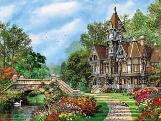 Собирать пазл Castle онлайн