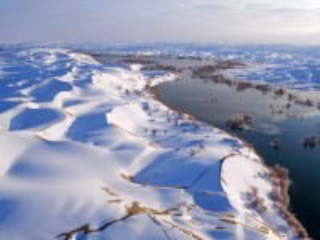 Собирать пазл Winter in China онлайн