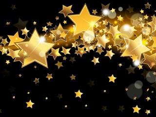Собирать пазл Gold stars онлайн