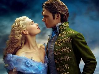 Собирать пазл Cinderella and prince онлайн