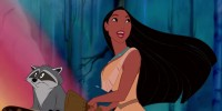 Собирать пазл Pocahontas and the little Coon онлайн